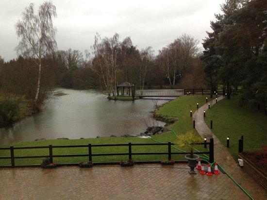Great Hallingbury Manor: Wedding Island,