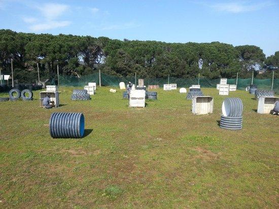 Torrent, Espagne : pista dos,Paintball Empordà