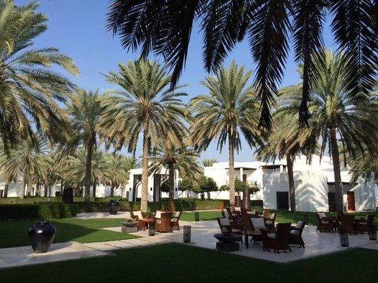 The Chedi Muscat – a GHM hotel: Hotel view
