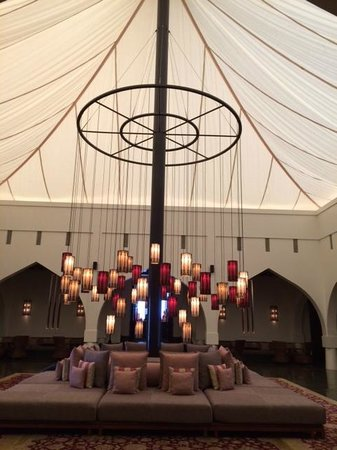 The Chedi Muscat – a GHM hotel: Lobby