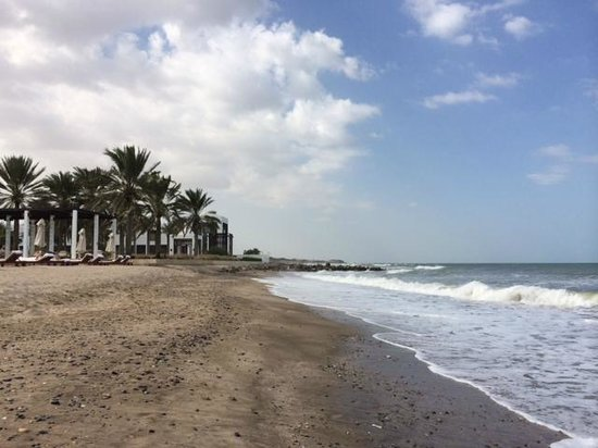 The Chedi Muscat – a GHM hotel: View from the beach