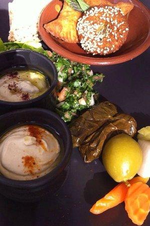The Chedi Muscat – a GHM hotel : Mezze platter