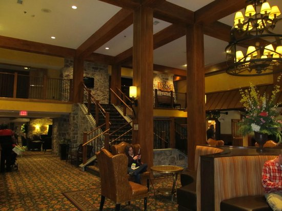 Hershey Lodge: Inside the lodge.