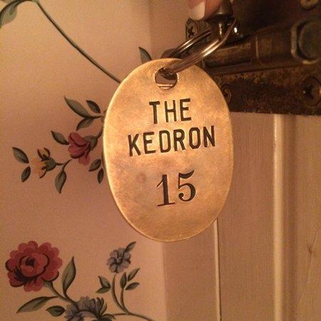 Kedron Valley Inn: room key