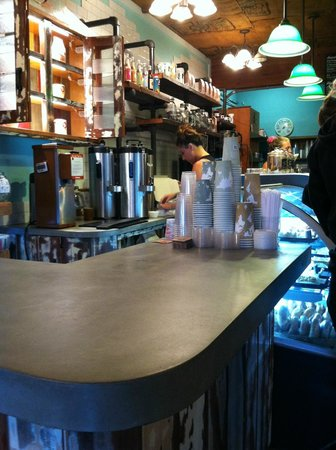 Coffee Gallery Counter