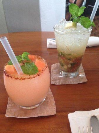 CHANDI: Guava Lime Margarita & Apple Rhubarb Mojito