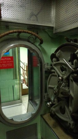 The Submarine Force Museum: Nautilus tour for the limber people