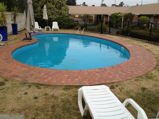 Begonia City Motor Inn : Nice and clean pool