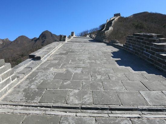 Great Wall at Huanghuacheng : again, steep
