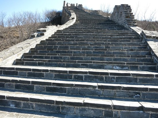 Great Wall at Huanghuacheng : Hope your legs are in good shape