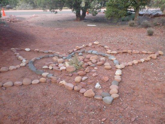 Alma de Sedona Inn Bed & Breakfast: heart star