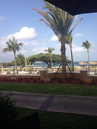La Cabana Beach Resort & Casino : View from patio