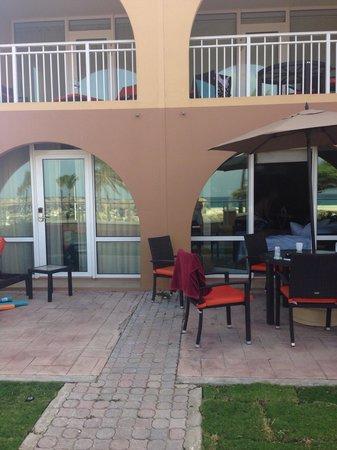 La Cabana Beach Resort & Casino : Patio