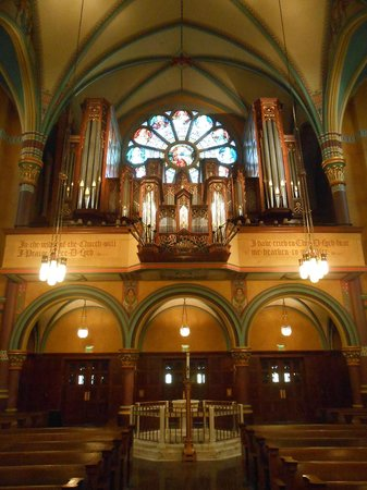 Cathedral of the Madeline: The Organ