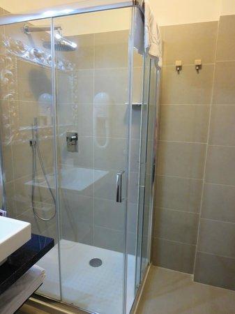 Domus Fontis: shower