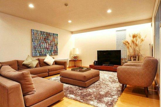 Country Resort Niseko: tv corner
