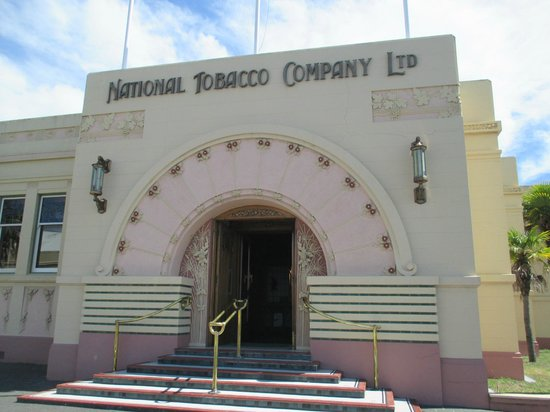 Bay Tours and Charters : Art Deco Building-one of the most beautiful