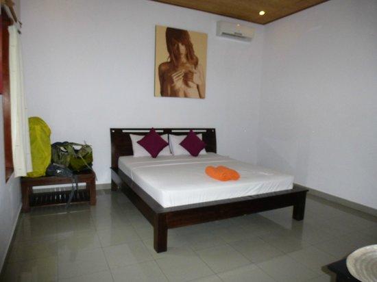 Ubud Dream : spacious room with A/C