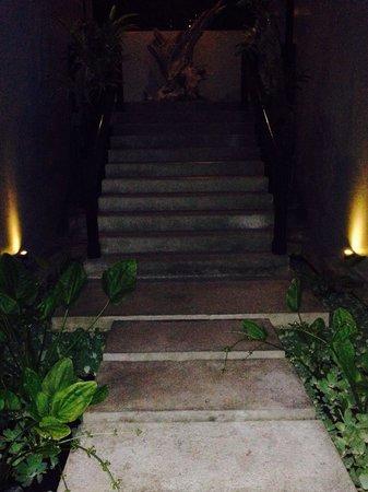 Annora Villas Seminyak: Stairs to D1