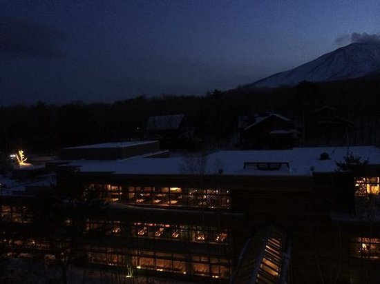 Hotel Karuizawa 1130: 部屋の窓から
