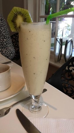 The Three Boutique Hotel : Delicious breakfast smoothie
