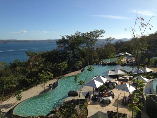Andaz Peninsula Papagayo Resort : View from our suite (Building #7)
