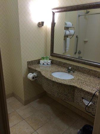 Holiday Inn Express Suites Mason: Bathroom - sink