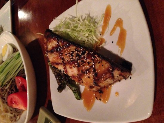 Monstera : Miso-marinated butterfish