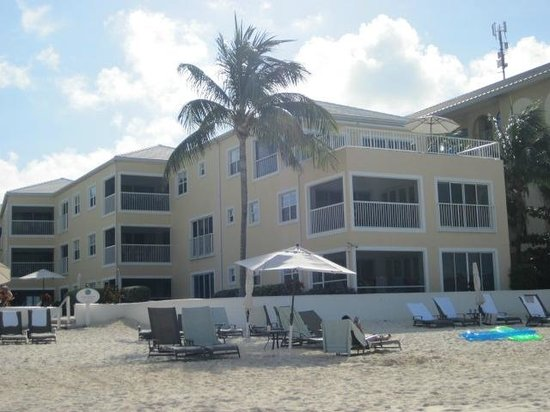 Regal Beach Club: Unit 121 is on the second floor, closest to the beach, with an enclosed balcony