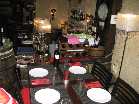 Restaurant Carmen : Aperçu de l'intérieur.