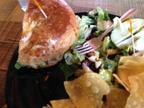 Gypsy Den: The Waldof Chicken Sandwich and Goat Cheese Cranberry Salad