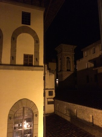 Hotel Berchielli: View from room