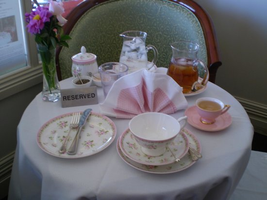 Moments u0026 Memories Tea Room Table setting for High Tea & Table setting for High Tea - Picture of Moments u0026 Memories Tea Room ...