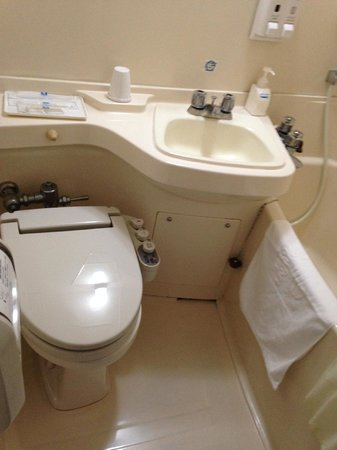 Comfort Inn Hiroshima Heiwa-Odori: バスルーム