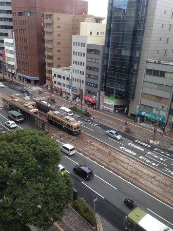 Comfort Inn Hiroshima Heiwa-Odori: 南南西の窓から