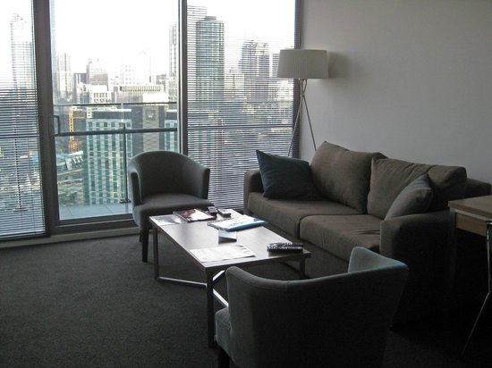 Melbourne Short Stay Apartments Southbank Collection: Lounge