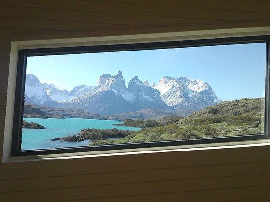 explora Patagonia : Vista desde la recepción