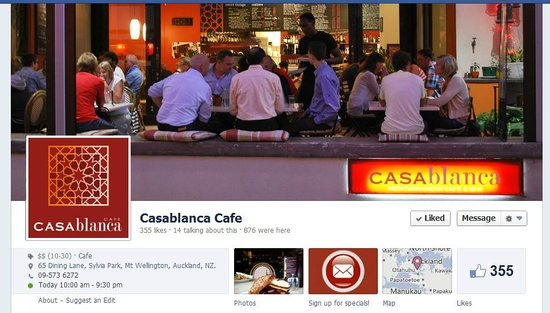 Casablanca Cafe: Diner time