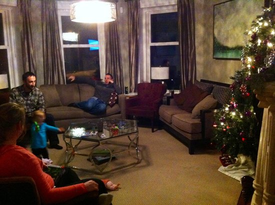 The Manse Boutique Inn & Spa : cozy living room