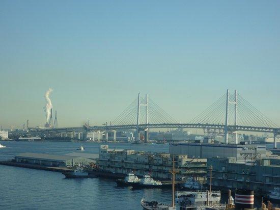 Hotel Monterey Yokohama: 朝食のレストランからの眺め