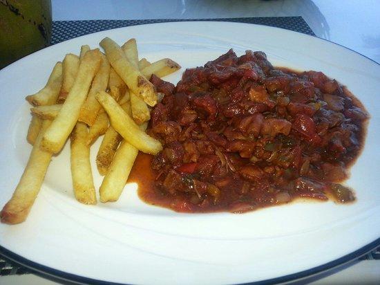 Playa Blanca Restaurant : Spicy Goat