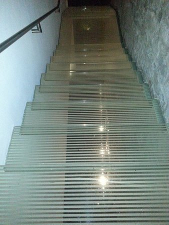 La Purificadora : Glass Staircase