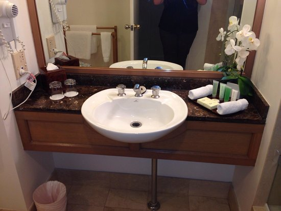 Stamford Plaza Sydney Airport: Basin with nice toiletries
