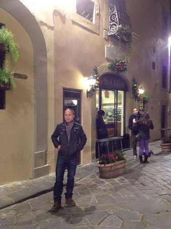 Restaurante Il Latini : In front of the restaurant