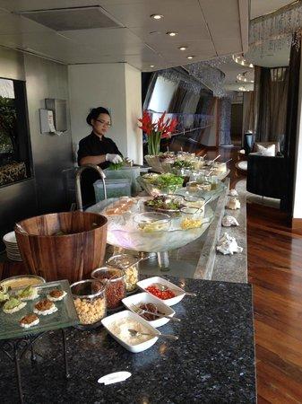 Lord Jim's at Mandarin Oriental, Bangkok: the salad station