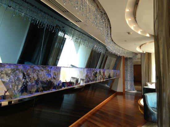 Lord Jim's at Mandarin Oriental, Bangkok: The aquarium