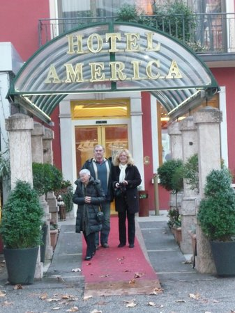 Hotel America: Hôtel America, Trento, Italie.