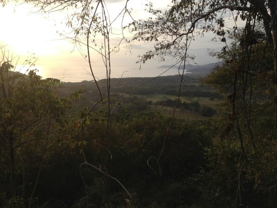 Rhodeside Bed and Breakfast: Sunset from the hills while horseback riding