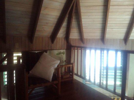 Xtabi Resort: Part of the bedroom in Cottage 4