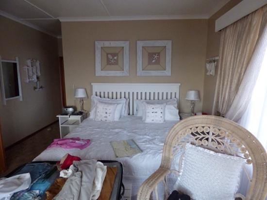 Dana Bay B&B Guest House: unser Zimmer, blick aufs wasser